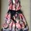 Lady Ribbon Rosalyn Dress เดรสลายดอกไม้ พร้อมริบบิ้นผูกเอว thumbnail 12