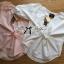 Lady Ribbon Vintage Insert Lace Cotton Blouse thumbnail 8