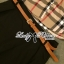 Lady Ribbon Burberry Style Plaid Shirt and Black Pants thumbnail 10