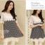 IceVanilla Dress เดรสลาย Shinori แต่งผ้าลูกไม้ thumbnail 2