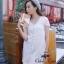 Ivory Knit Mini Dress มินิเดรสไหมพรม สีโทนอ่อน thumbnail 1