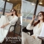 Icevanilla White Luxury Korea Chiffon Dress thumbnail 7