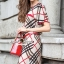 Seoul Secret Burberry Red Ribbon Dress thumbnail 2