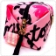 &#x2764️ VS Signature Print Pink with Black Cosmetic Pouch thumbnail 5