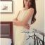 Lady Ribbon V-back Lace Dress เดรสแขนกุดผ้าลูกไม้สีขาว ด้านหลังคอวี thumbnail 1