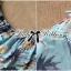 Lady Ribbon ชุดเซ็ทเสื้อเปิดไหล่และกางเกงเอวสูง สีชมพู สีฟ้า thumbnail 13
