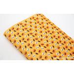 ผ้าสักหลาดเกาหลีลายฮาโลวีน size 1mm ขนาด 42x30 cm /ชิ้น (Pre-order) No.D 395 Yellow