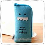 Toffee Nut Pencil Case - Blue