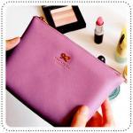 Ribbon Pouch - Purple