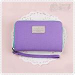 Bankbook pouch - Purple