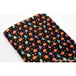 ผ้าสักหลาดเกาหลีลายฮาโลวีน size 1mm ขนาด 42x30 cm /ชิ้น (Pre-order) No.B 393 Black