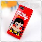 Case iPhone 4/4s Peko Milky - F