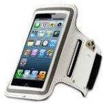 Armband สายรัดแขนออกกำลังกาย iPhone5,5s สีขาว