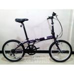 จักรยานพับ Dahon Bullet เฟรมโครโมลี ล้อ 20 นิ้ว (406) สีม่วง