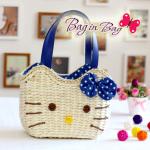 กระเป๋าถือ Hello Kitty (น้ำเงิน)