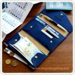 Tripping Pop Wallet - Navy