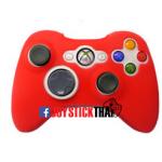 ซิลิโคนจอย Xbox - สีแดง