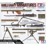 TA35121 U.S. Infantry Weapons Set 1/35