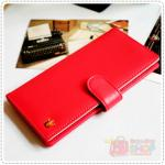 Crown Smart Card Purse - Red