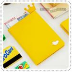 Jam Passport Holder - Yellow