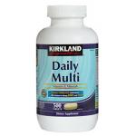 Kirkland Daily Multi Vitamins & Minerals 1 กระปุกมี 500 เม็ด