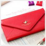 Sweet Letter Wallet - Red