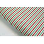 ผ้าสักหลาดเกาหลี พิมพ์ลาย Basic Christmas 1mm มี 8 ลาย ขนาด 42x30 cm /ชิ้น (Pre-order) No.H