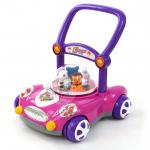 รถผลักเดิน Toddler walker ปรับหนืดได้ สีชมพู