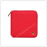 Zipper Wallet - Red