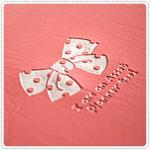 BankBook Ribbon - Pink