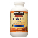 Kirkland Fish Oil 1000 mg Natural Omega-3 มี 400 เม็ด