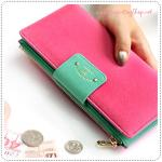 Too Slim Wallet - Hot Pink