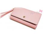 Crown Wallet G - Baby Pink