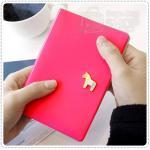 Pony Passport Case - Rose Pink