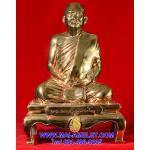 ..โค้ด ๒๒๓ นวโลหะ..พระบูชา คชวัตร หน้าตัก 4 นิ้ว  ครบ 90 พรรษา  สมเด็จญาณสังวร สมเด็จพระสังฆราช  วัดบวร  ปี 2546 พร้อมกล่องครับ
