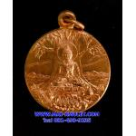เหรียญวชิรมกุฎ ปางปฐมเทศนา เนื้อทองแดง วัดมกุฎฯ กทม. ปี 2519 สวยครับ (S)