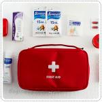 First Aid Pouch - Red