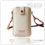 Sleeve Mobile Pouch case - White