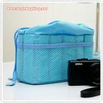 Camera Bag Insert - Milky Blue