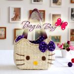 กระเป๋าถือ Hello Kitty (ม่วง)