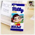 Case iPhone 4/4s Peko Milky - D