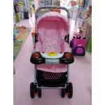 รถเข็นเด็ก ATTOON รุ่นจัมโบ้ (มีเสียงเพลง) สีชมพู