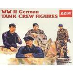 AC1371 WWII.GERMAN TANK CREW 1/35