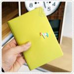 Pony Passport Case - Light Green