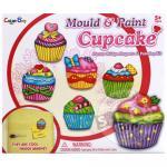 ชุดแม่พิมพ์และสี ขนมเค้ก...(Mould & paint ...cup cake) ฟรีค่าจัดส่งค่ะ