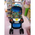 รถเข็นเด็ก ATTOON รุ่นจัมโบ้ (มีเสียงเพลง) สีฟ้า