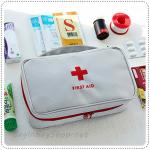 First Aid Pouch - Gray
