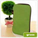 Folding Pencil Case - Green