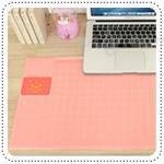 Smile Desk Mat - Pink