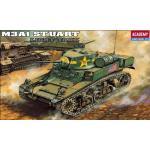 AC13269 U.S. M3A1 STUART LIGHT TANK(1/35)